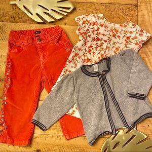 BabyGap Bundle 12-18mo corduroy pants Gap Baby A2